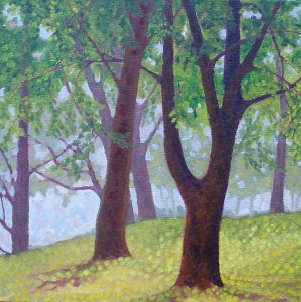 Trees at the Entrance