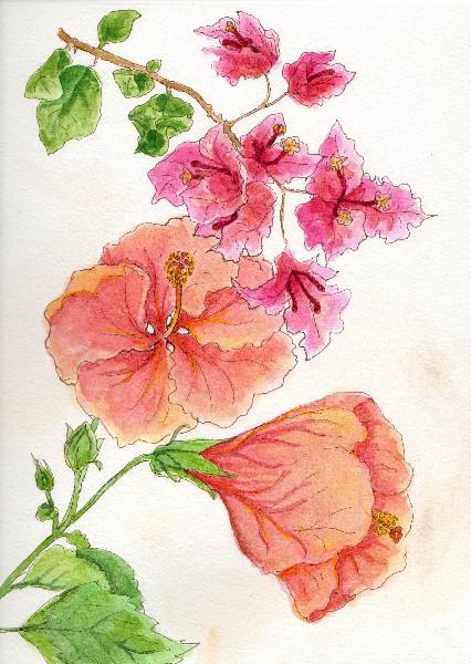 Botanical Flowers-5