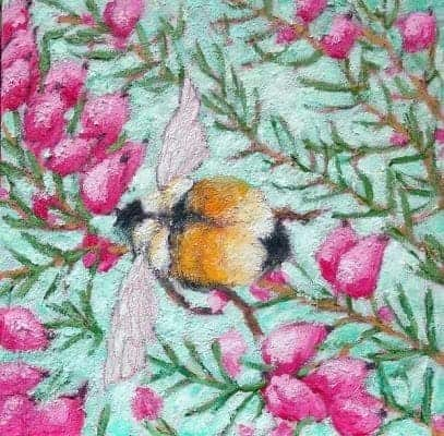Bumblebee-in-the-Heather