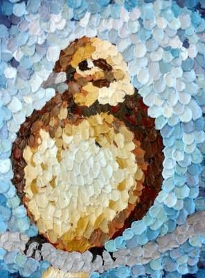 Mosaic Sparrow